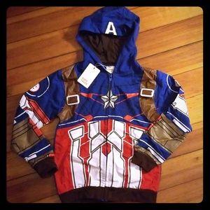 ⭐3 for $25⭐ NWT Captain America Sweatshirt